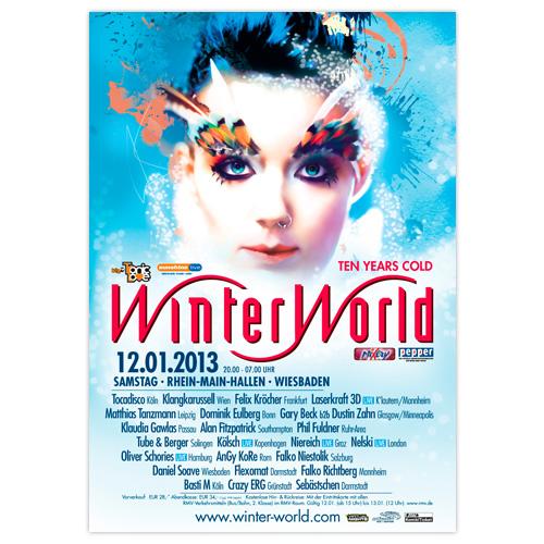 WinterWorld 2013 | Poster | A0
