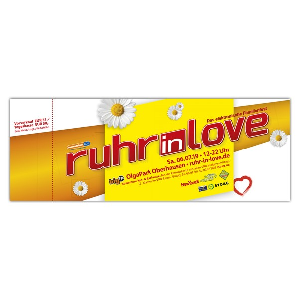 Ruhr-in-Love 2019 | Ticket