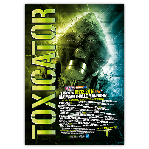 TOXICATOR 2014 | Poster | A1