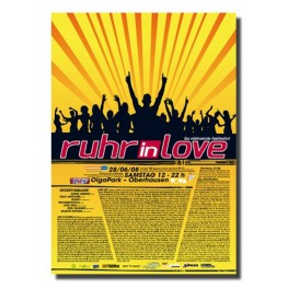 Ruhr-in-Love 2008 | Poster