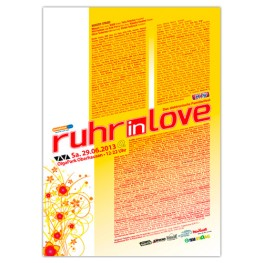 Ruhr-in-Love 2013 | Poster | A0