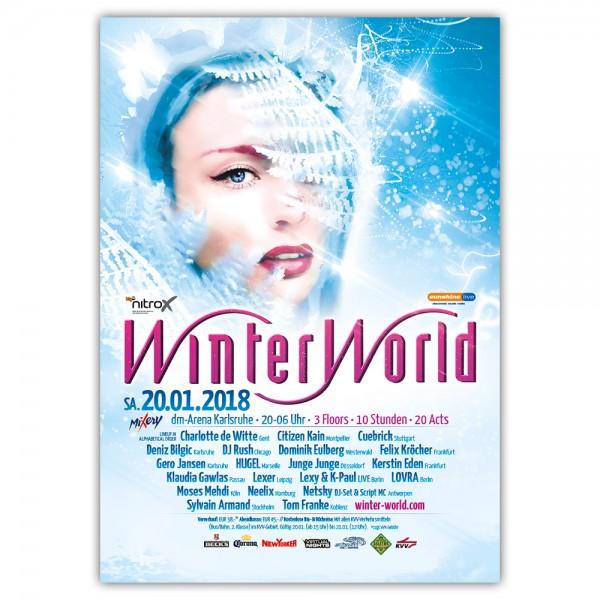 WinterWorld 2018 | Poster | A0