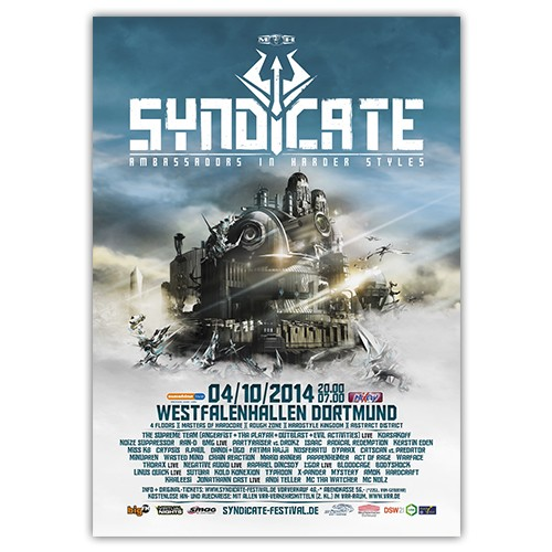 SYNDICATE 2014 | Poster | A0