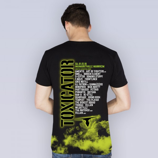 TOXICATOR 2018 | T-Shirt | LineUp
