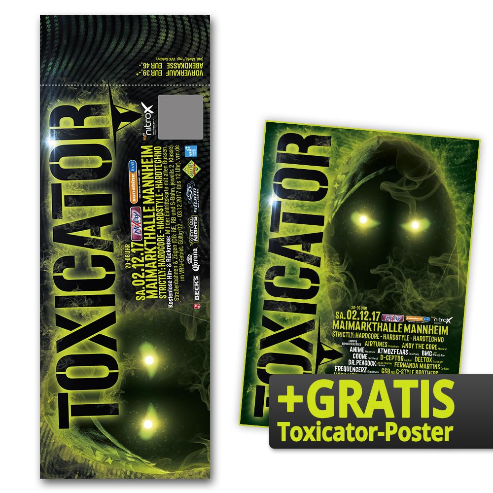 TOXICATOR 2017   Ticket