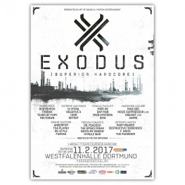 EXODUS 2017 | Poster | A0