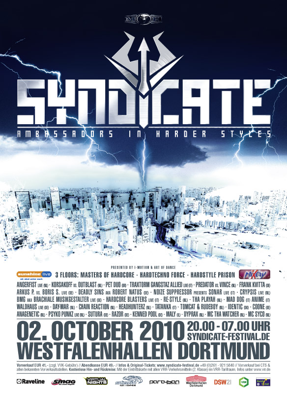 SYNDICATE 2010 | Poster