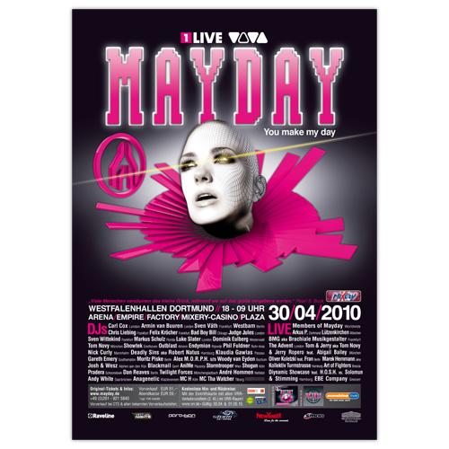 MAYDAY 2010 | Poster