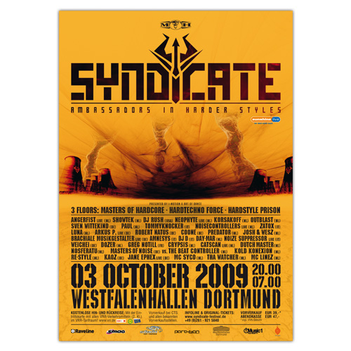 SYNDICATE 2009   Poster