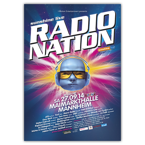 RadioNation 2014 | Poster | A1