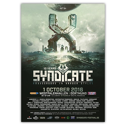 SYNDICATE 2016 | Poster | A0