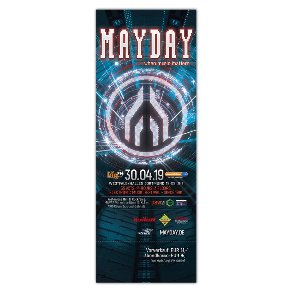 MAYDAY 2019 | Ticket