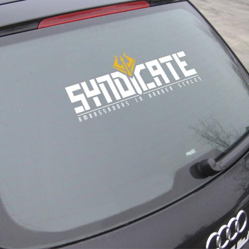 SYNDICATE | Autoaufkleber