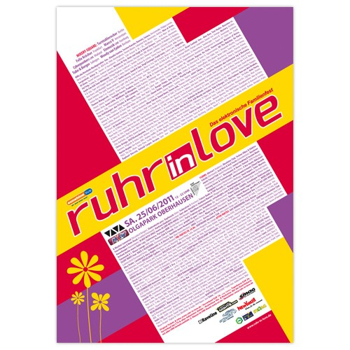 Ruhr-in-Love 2011 | Poster