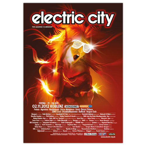 electric city 2012 | Poster