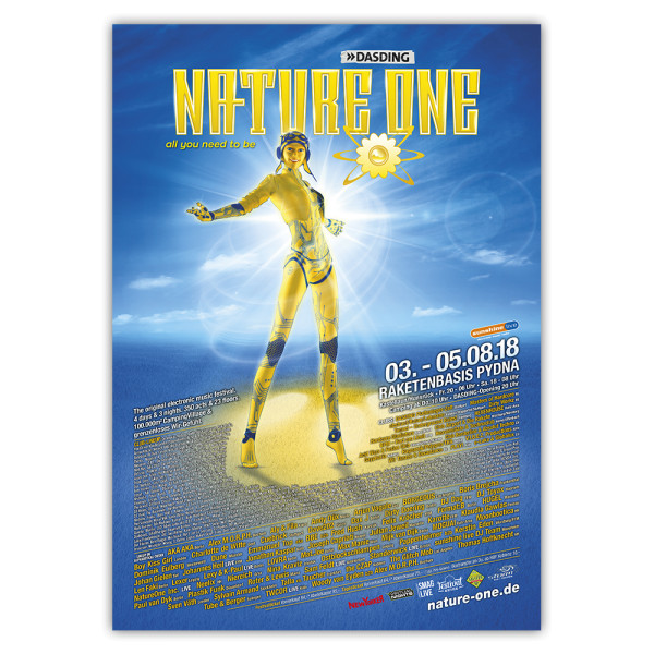 NATURE ONE 2018 | Poster