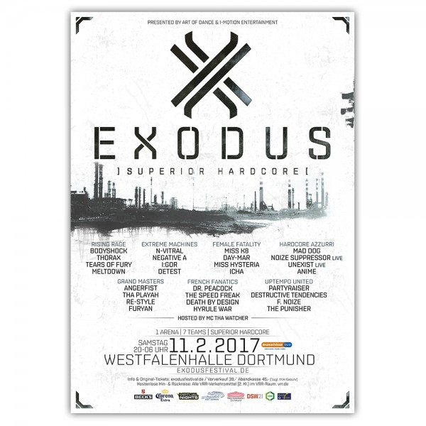 EXODUS 2017 | Poster | A1
