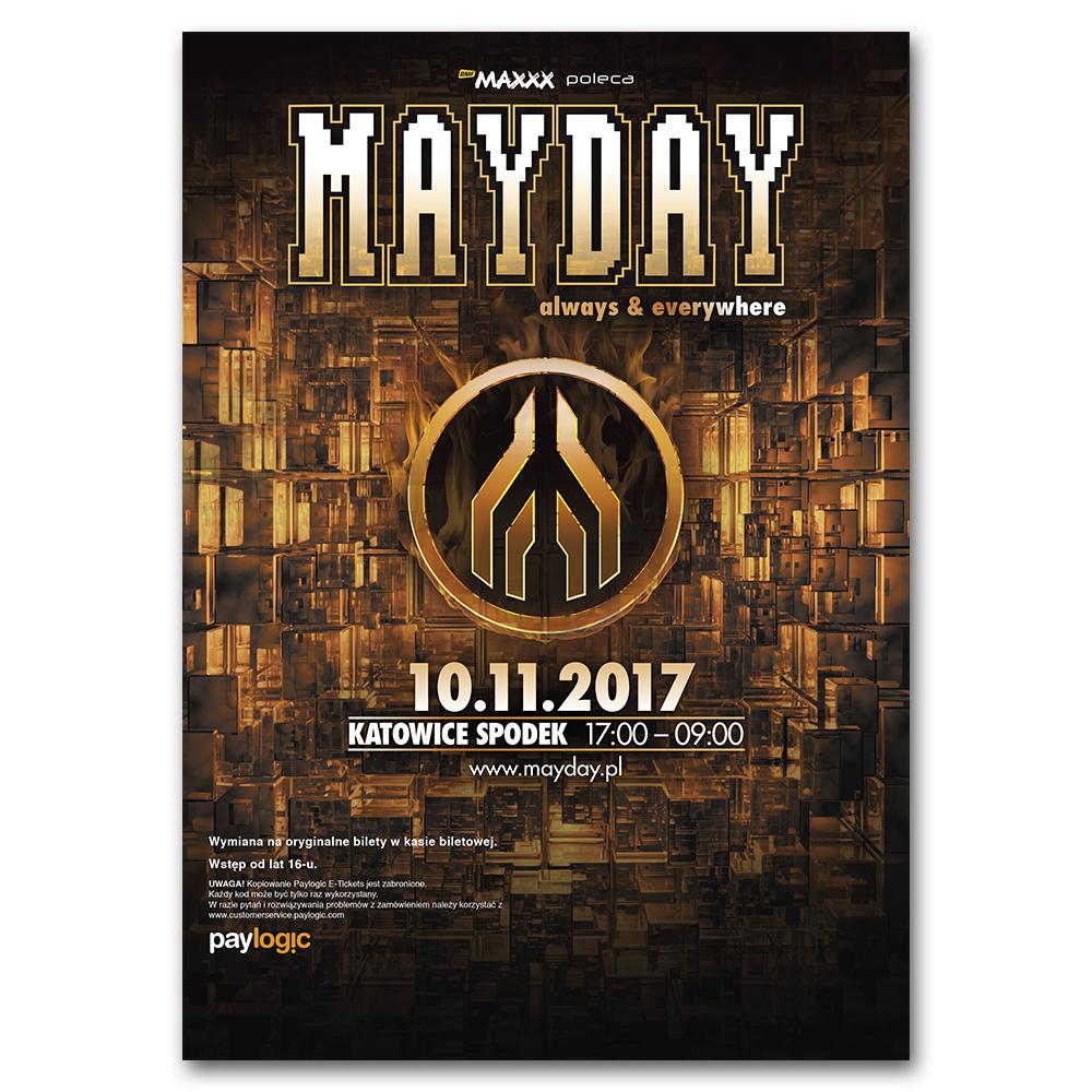 MAYDAY Polen 2017   Ticket