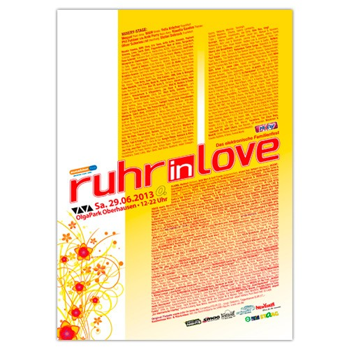 Ruhr-in-Love 2013 | Poster | A1