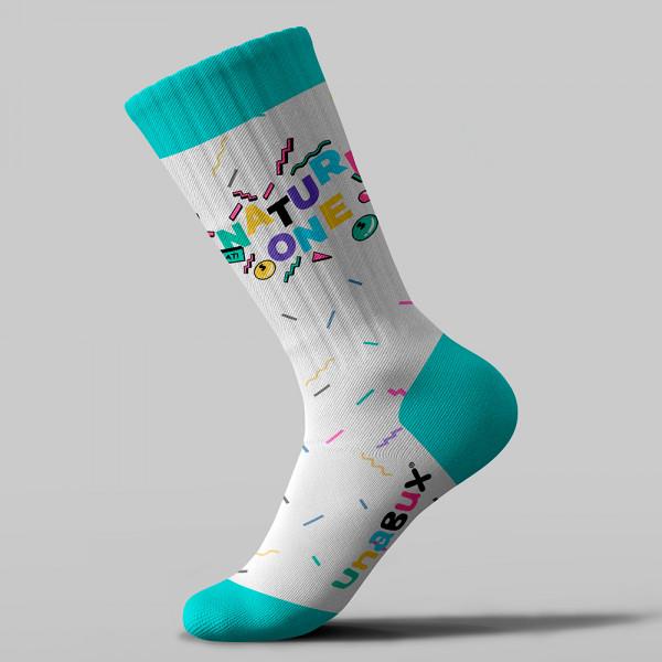 NATURE ONE | Socken | WHITE