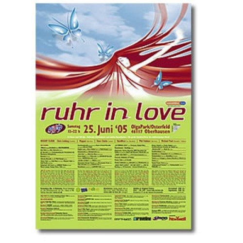 Ruhr-in-Love 2005 | Poster