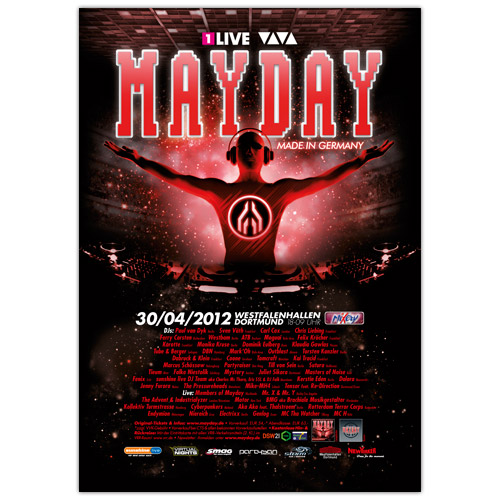 MAYDAY 2012 | Poster | A0