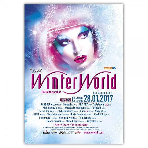 WinterWorld 2017 | Poster | A1