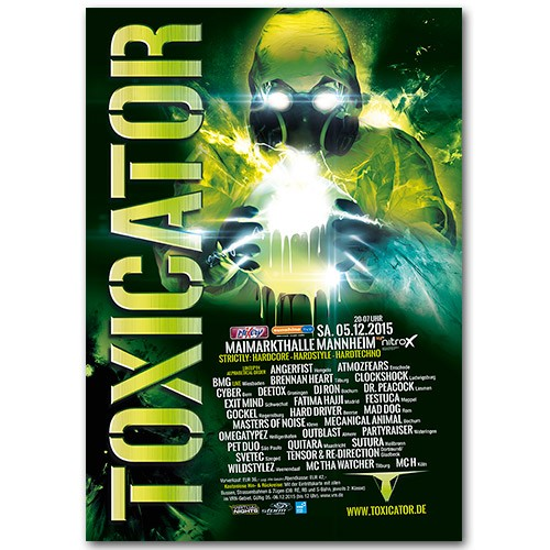TOXICATOR 2015 | Poster | A0