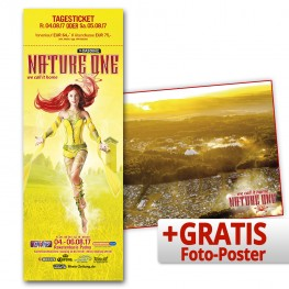 NATURE ONE 2017   Tagesticket