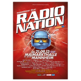 RadioNation | Poster | A0