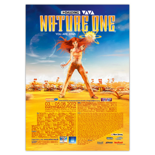 NATURE ONE 2012 | Poster