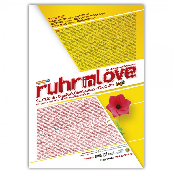 Ruhr-in-Love 2018 | Poster