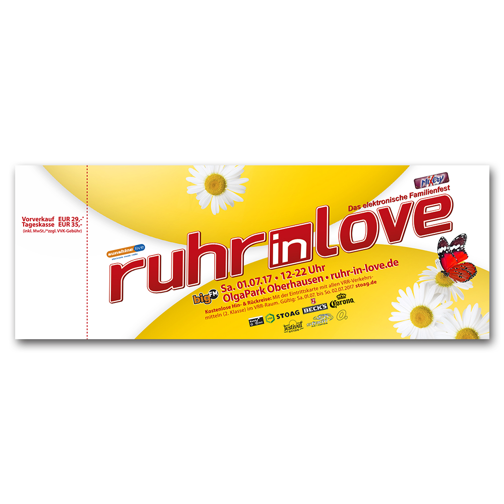 Ruhr-in-Love 2017 | Ticket
