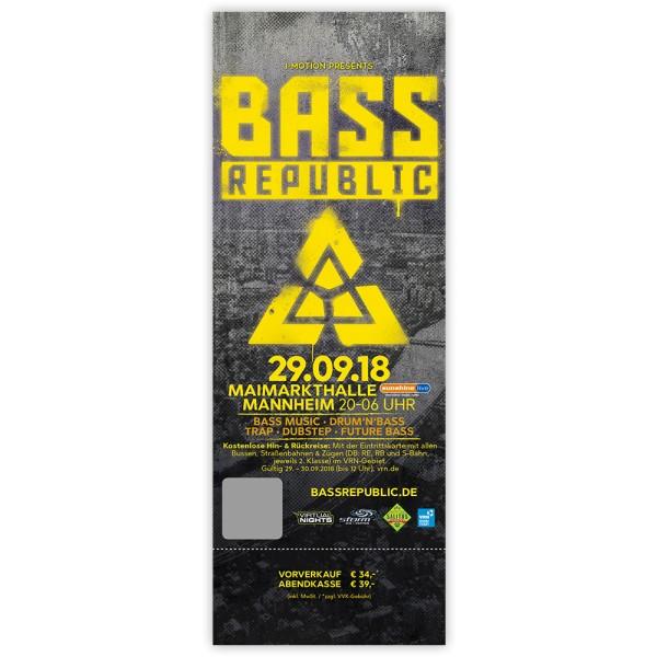 BassRepublic 2018 | Ticket