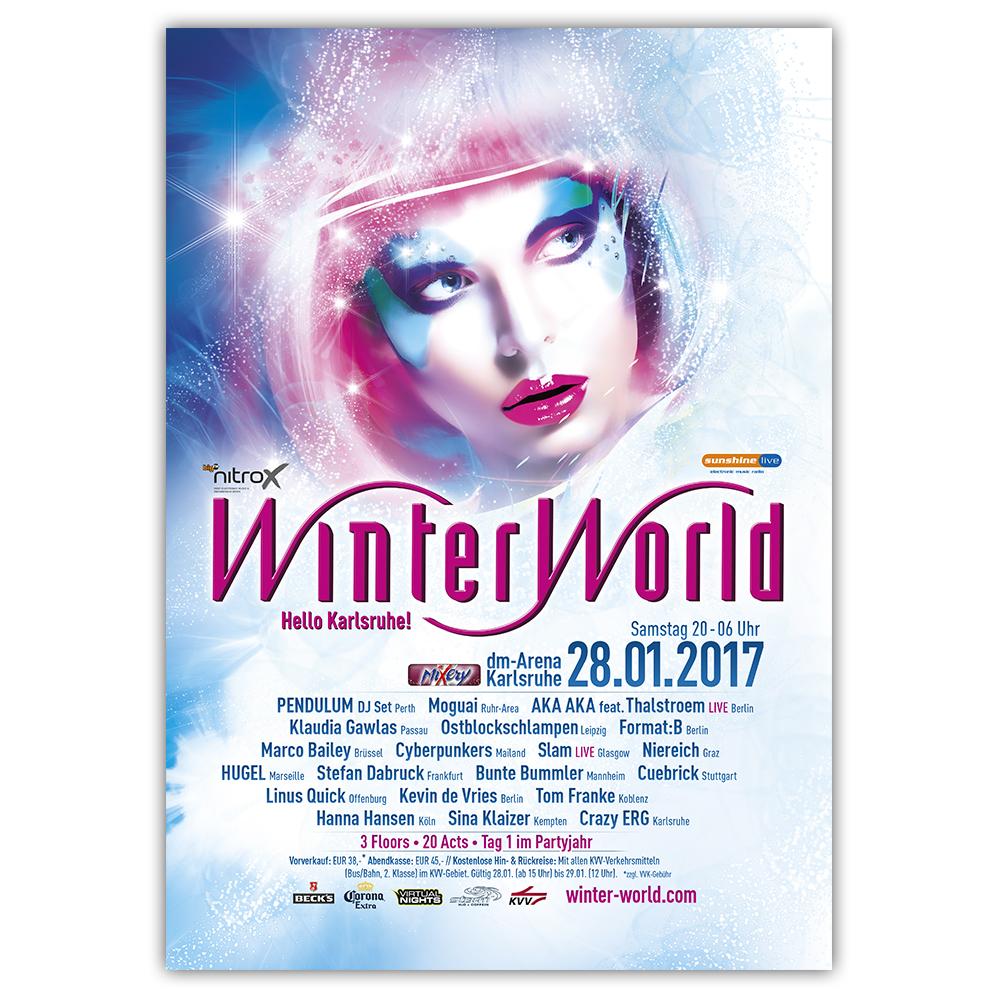 WinterWorld 2017 | Poster | A0