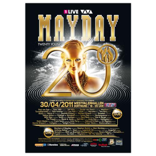 MAYDAY 2011 | Poster