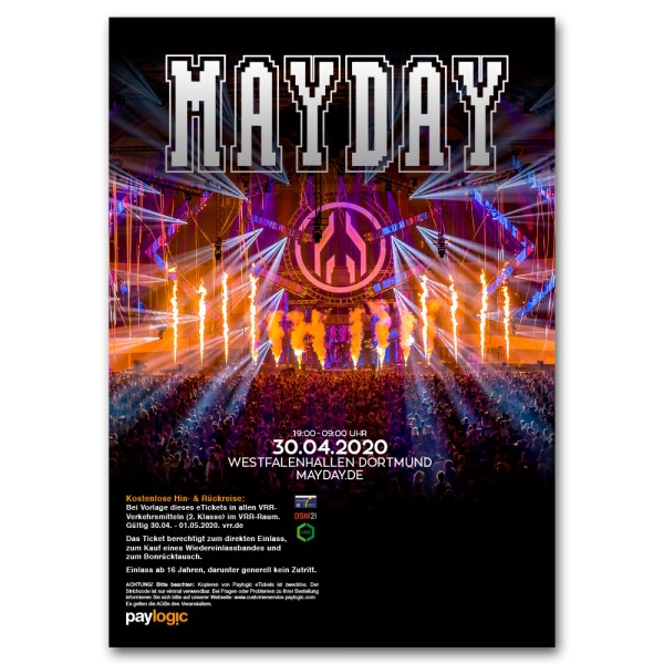 MAYDAY 2020 | Ticket | Print@Home