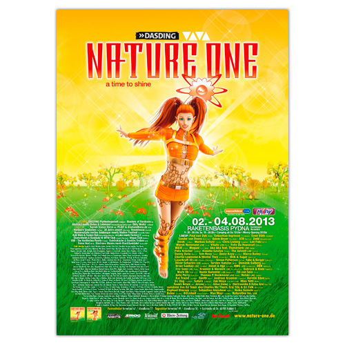 NATURE ONE 2013 | Poster | A0