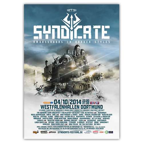 SYNDICATE 2014 | Poster | A1