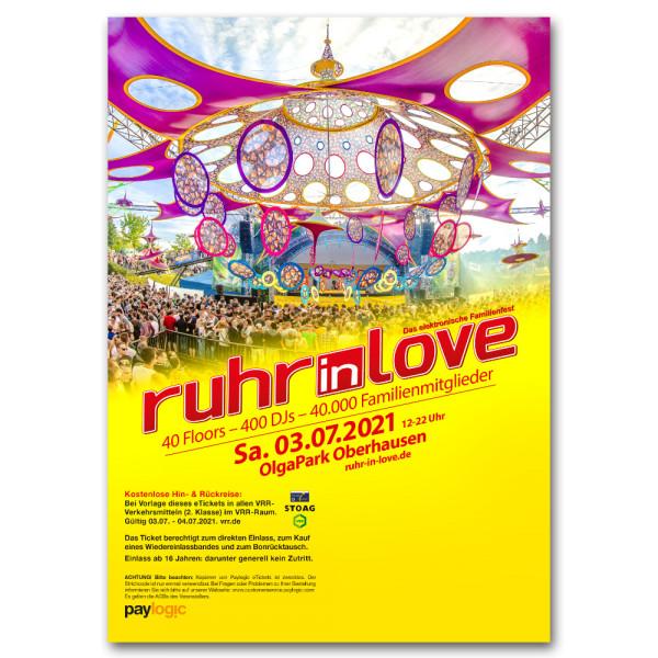 Ruhr-in-Love 2021 | Ticket
