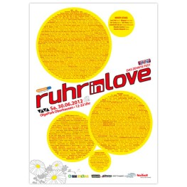 Ruhr-in-Love 2012 | Poster | A0