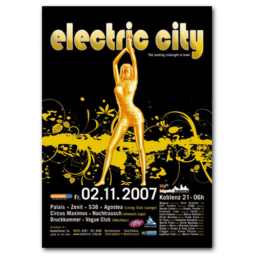 electric city 2007 | Poster