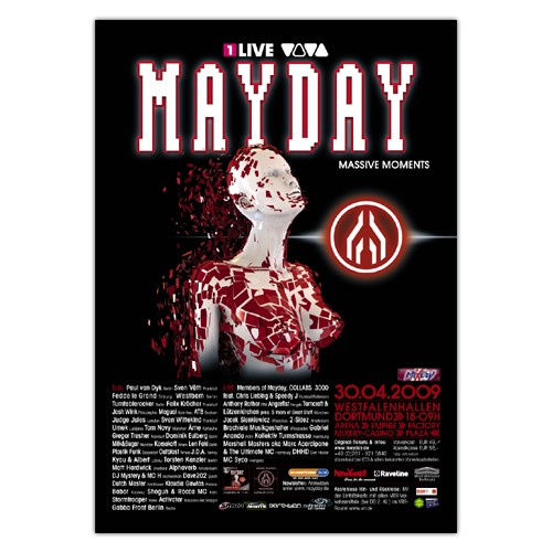 MAYDAY 2009 | Poster