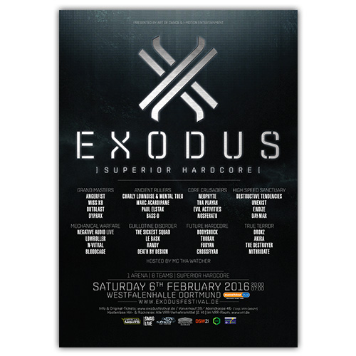 EXODUS 2016 | Poster | A0