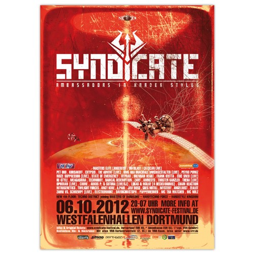 SYNDICATE 2012 | Poster | A0
