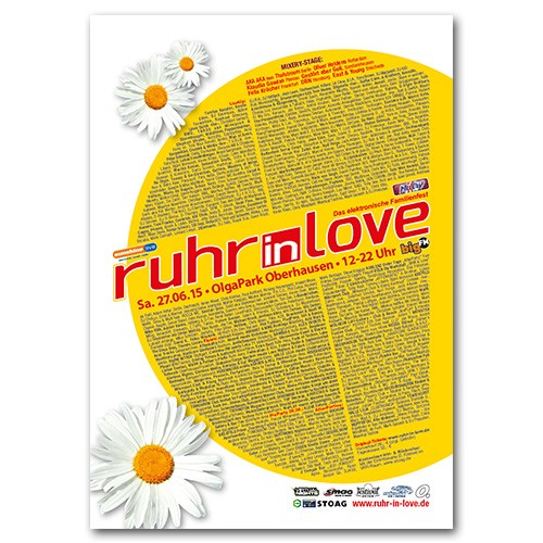 Ruhr-in-Love 2015 | Poster | A1