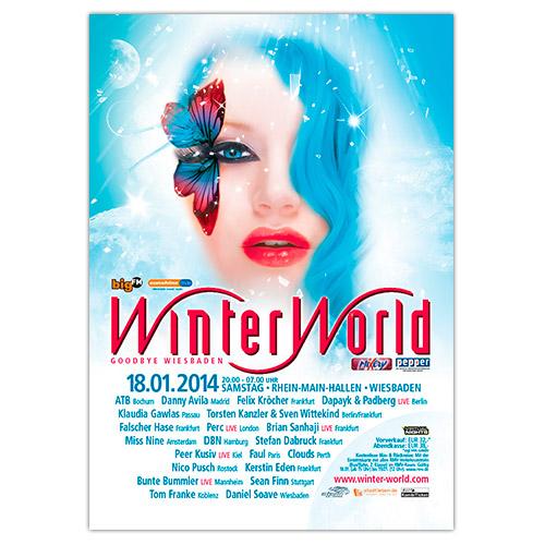 WinterWorld 2014   Poster   A0