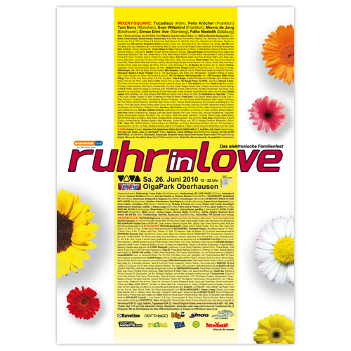Ruhr-in-Love 2010 | Poster