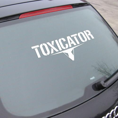 TOXICATOR | Autoaufkleber