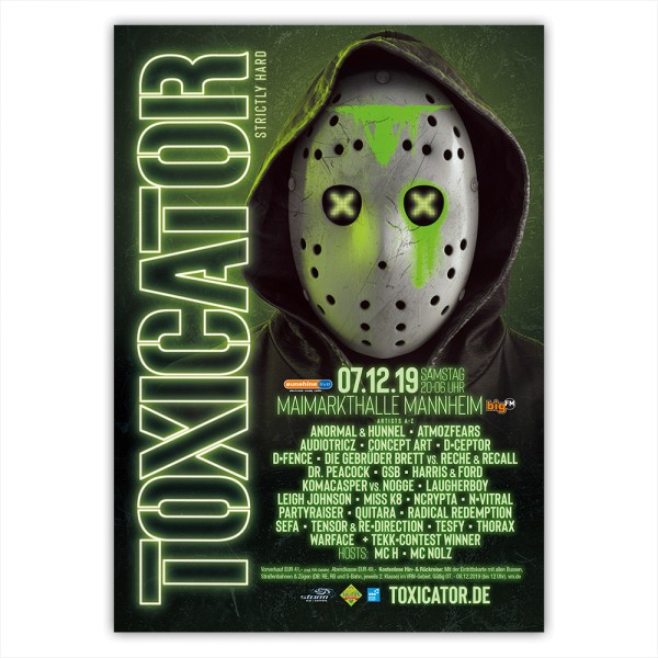 TOXICATOR 2019 | Poster